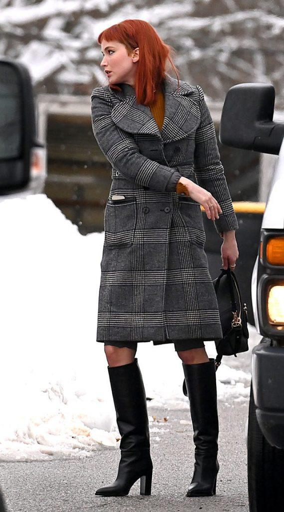 Don't Look Up Jennifer Lawrence Coat