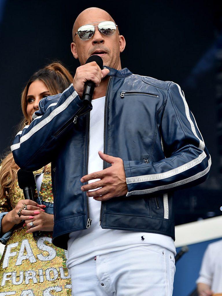 The Road To F9 Concert Vin Diesel Jacket