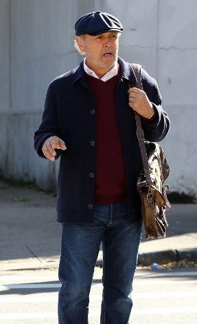 Here Today Charlie Bern Blue Jacket