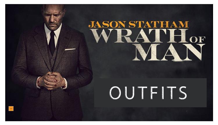 Wrath of Man Jason Statham Banner