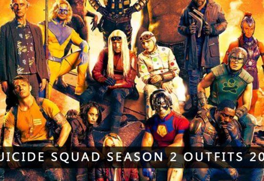 Suicide Squad Season 2 Outfits 2021