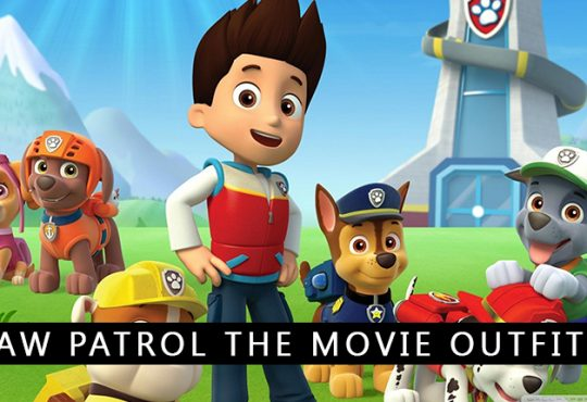 Paw Patrol the Movie Outfits