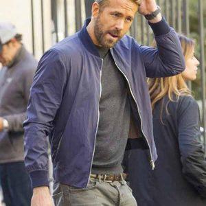 6-Underground-Ryan-Reynolds-Blue-Bomber-Jacket
