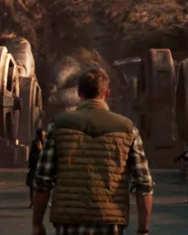 Godzilla vs Kong 2021 Nathan Lind Puffer Vest