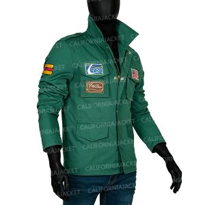 James Sunderland Video Game Silent Hill 2 Green Cotton Jacket