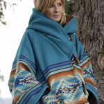 Yellowstone-Beth-Dutton-Blue-Hooded-Coat