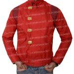 akira kaneda red good for health bad for education leather jacket
