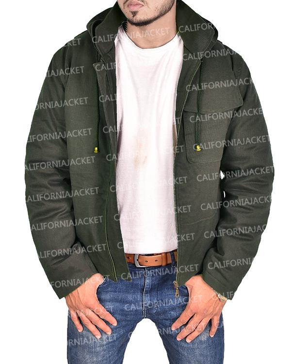 avengers endgame thor hooded jacket