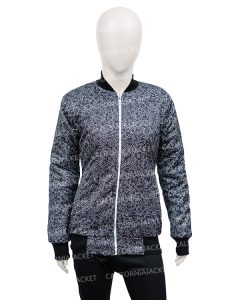 black-printed-bomber-jacket