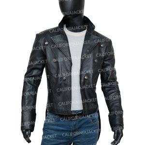bray wyatt the fiend black leather jacket