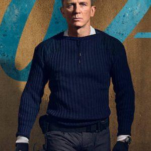 daniel-craig-no-time-to-die-james-bond-blue-woolen-sweater