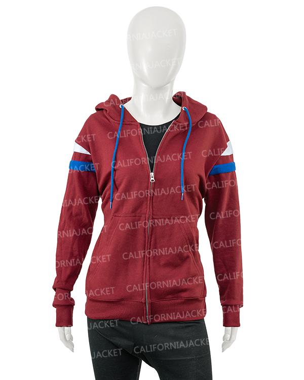 elizabeth olsen wandavision 2021 wanda maximoff zipper hoodie