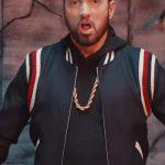 eminem's varsity jacket from godzilla music video