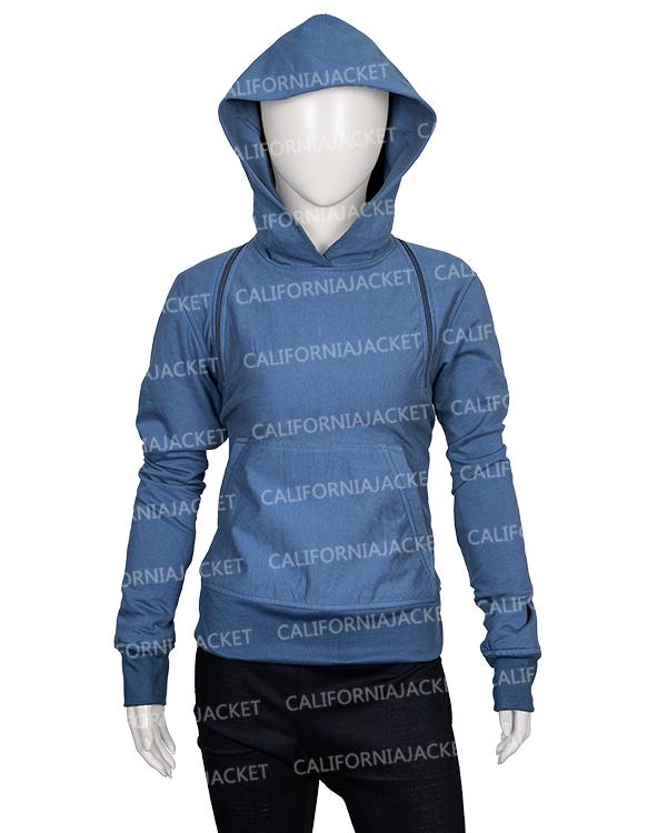 feel-the-beat-sofia-carson-grey-hoodie