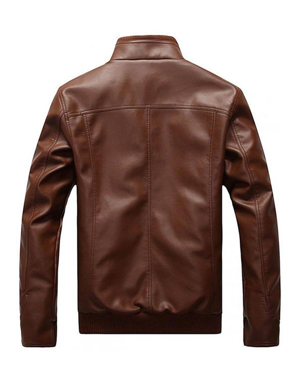 mens-brown-bomber-jacket