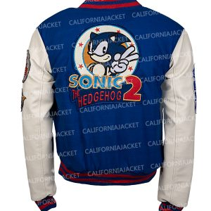sonic hedgehog bomber jacket