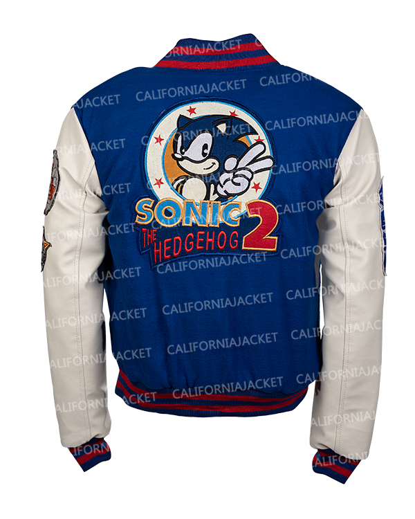 sonic hedgehog bomber jacket