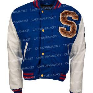sonic hedgehog bomber varsity jacket