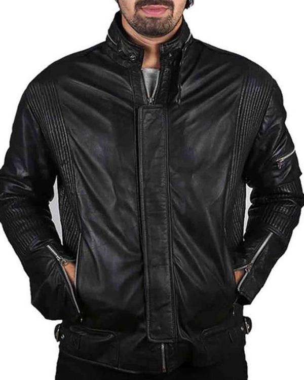 thomas bangalter daft punk electroma leather jacket