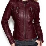 womens-burgundy-biker-leather-jacket