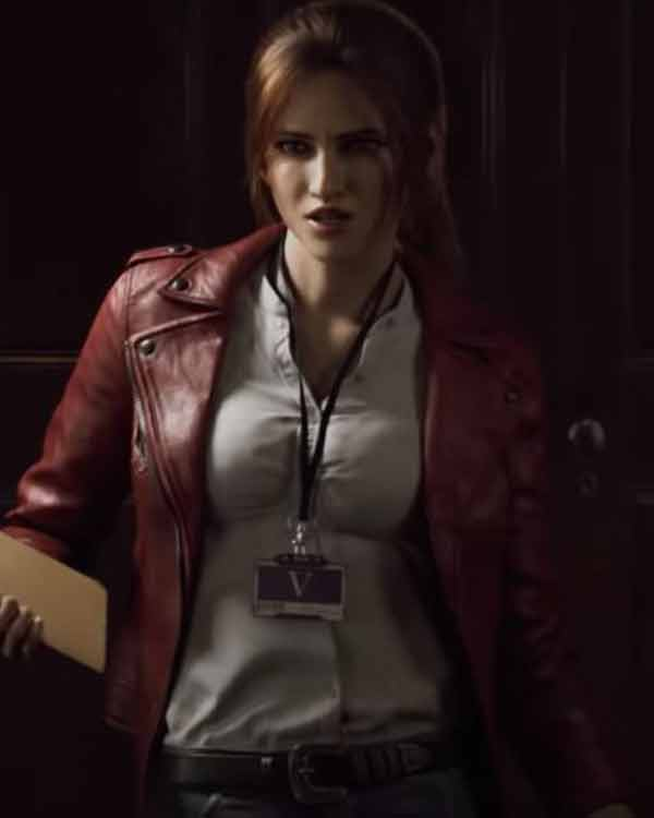 Resident-Evil-Infinite-Darkness-Red-Leather-Jacket