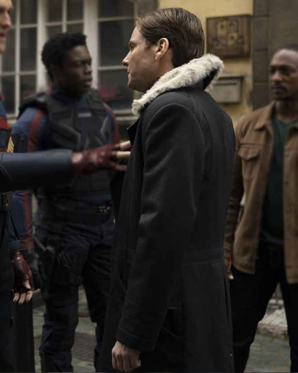 The Falcon And The Winter Soldier Daniel Brühl coat