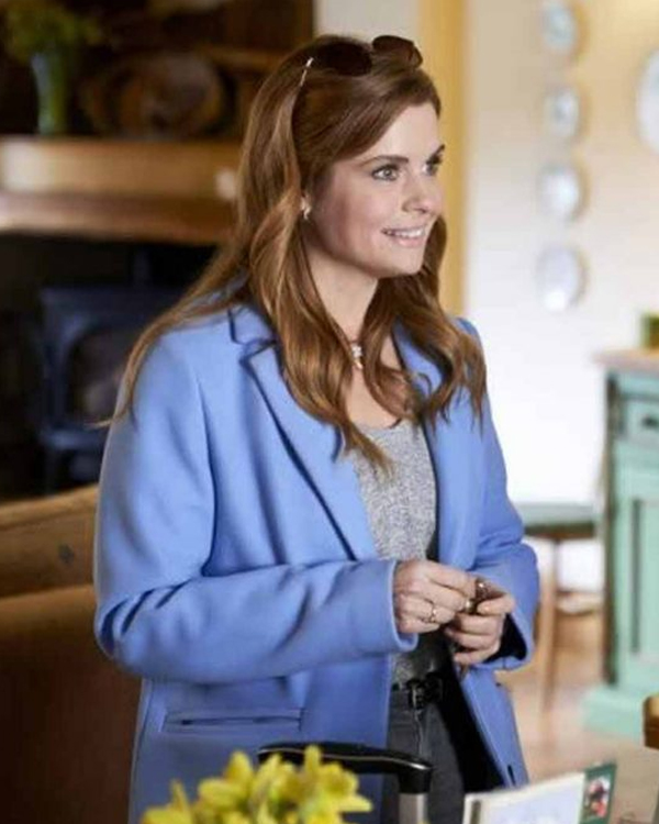 as luck would have it joanna garcia swisher coat