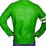 ben-10-alien-swarm-green-leather-biker-jacket