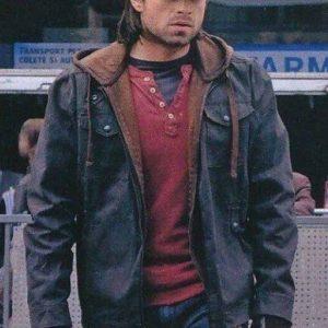 captain america civil war sebastian stan hooded jacket