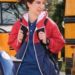 chad nasim pedrad blue & red hoodie