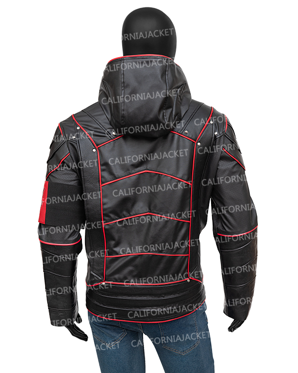 crisis-on-earth-x-dark-arrow-leather-jacket-with-hood