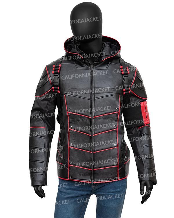 crisis-on-earth-x-dark-arrow-leather-jacket