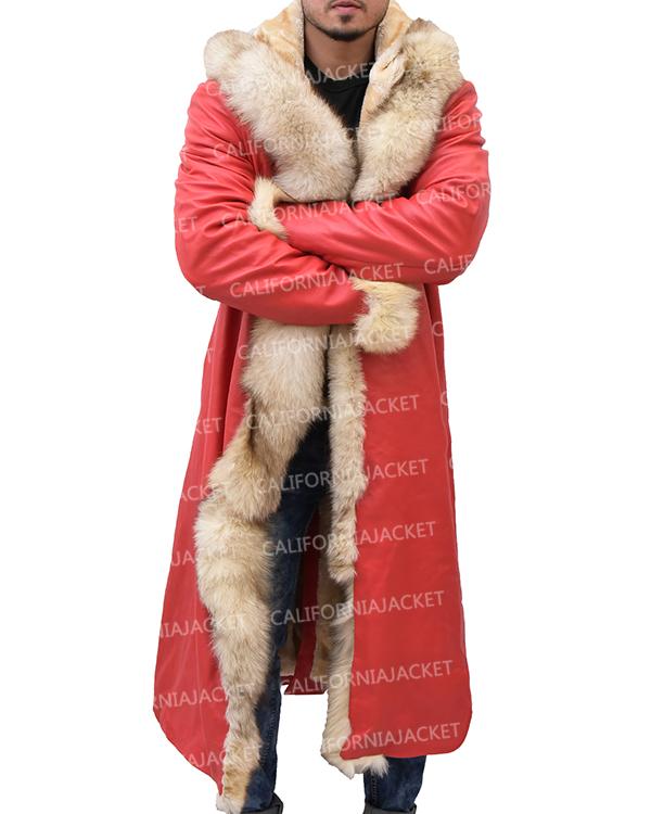 kurt russell santa claus coat