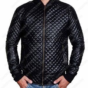 men-slim-fit-black-quilted-leather-jacket