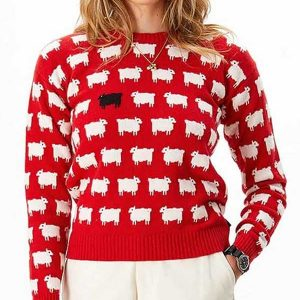 princess-diana-black-sheep-red-red-sweater