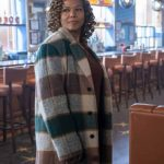 queen latifah the equalizer 2021 robyn mccall checked coat