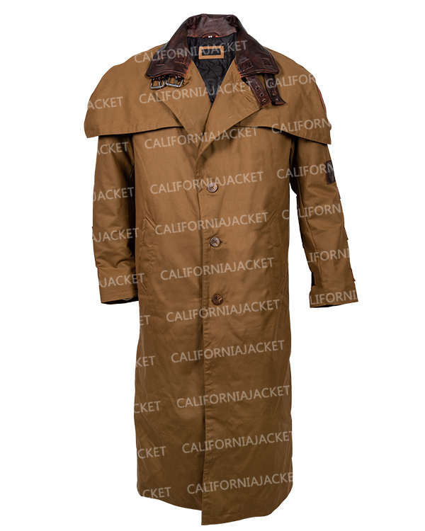 ron perlman the golden army hellboy 2 trench coat