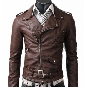 slim-fit-belted-rider-brown-leather-jacket