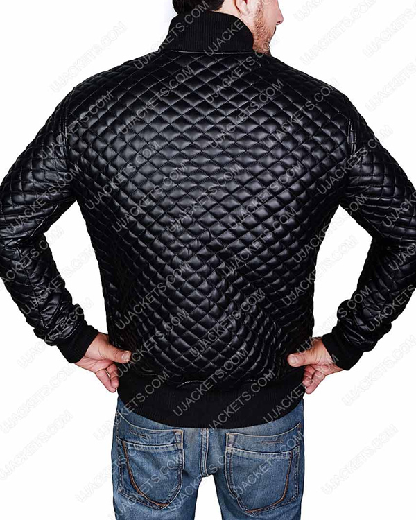 slim-fit-black-quilted-leather-jacket-for-mens