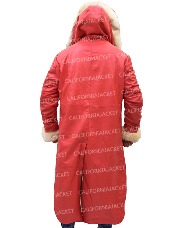 the christmas chronicles santa claus trench kurt russell coat