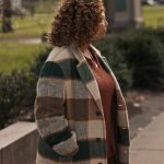 the equalizer 2021 robyn mccall checked coat