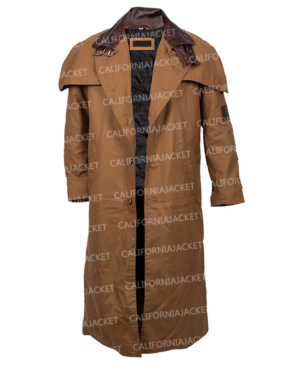 the golden army hellboy 2 trench coat