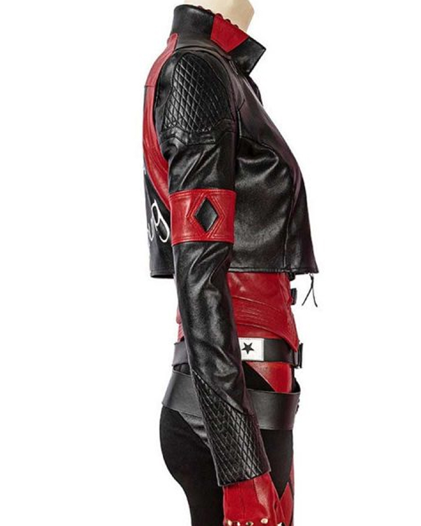 the-suicide-squad-harley-quinn-red-and-black-leather-jacket
