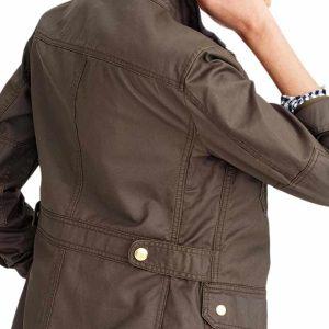 women's dark brown jacket