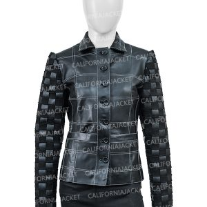 Emma Stone Cruella Deville Leather Jacket