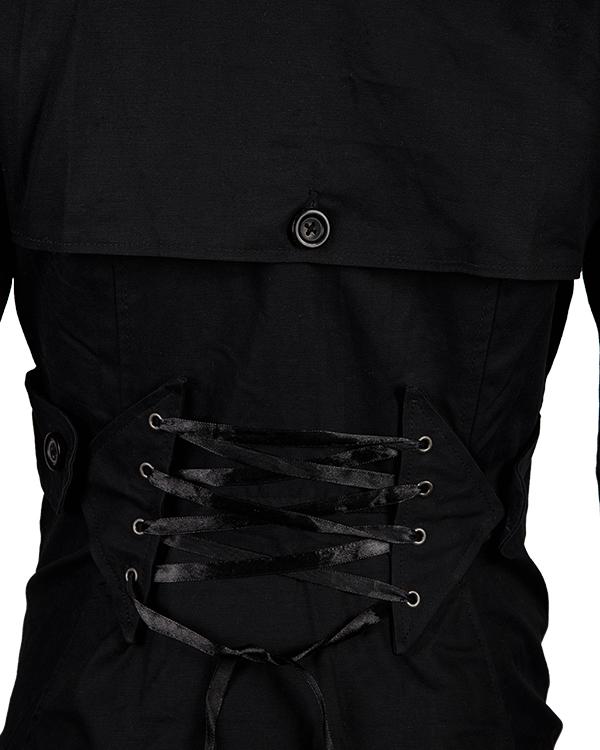 Jennifer Lawrence Black Silver Linings Playbook Coat