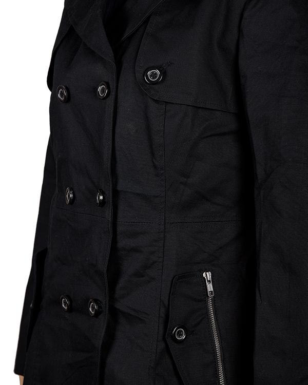 Jennifer Lawrence Silver Linings Playbook Black Woolen Coat