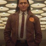 TV-Series Loki Season 01 2021 Grey Printed Coat For Men