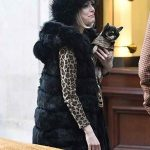cruella 2021 emma stine black coat