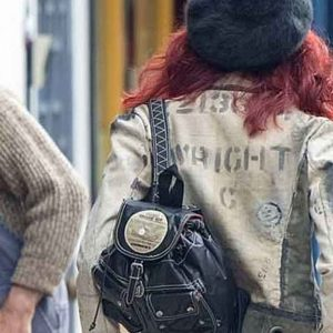 emma stone cruella 2021 cruella de vil mini backpack